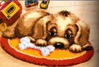 Набор для вышивания коврика «Щенок»