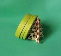 Лента репсовая зеленая