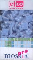 Декоративная керамическая мозаика светло-голубая