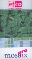 Декоративная керамическая мозаика зеленая