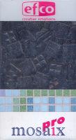 Декоративная керамическая мозаика черная