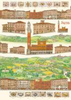 Большая карта для декупажа «Сиена»