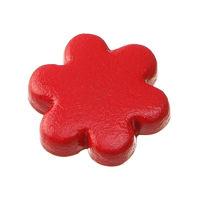 Декоративные заклепки «Цветок красный»