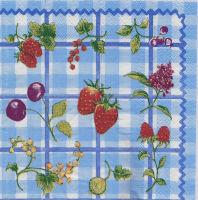 Салфетка для декупажа «Садовые ягоды»