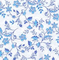 Салфетка для декупажа «Голубой узор»