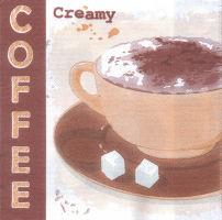 Салфетка для декупажа «Creamy coffee»