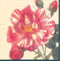 Салфетка для декупажа «Акварельная роза»