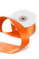 Лента атласная «Шелк оранжевый»