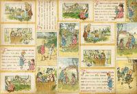 Бумага рисовая для декупажа Старинная книга
