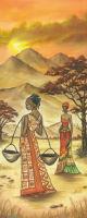 Бумага рисовая для декупажа «Африканские женщины»