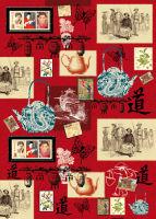 Большая карта для декупажа «Восточное чаепитие»