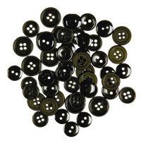 Набор пуговиц «Черные»