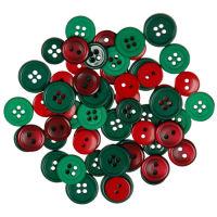 Набор пуговиц «Красный и зеленый»