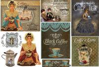 Бумага рисовая для декупажа «Кофе»