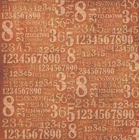 Салфетка рисовая для декупажа Цифры