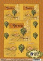 Декупажная карта «Тоскана»