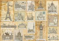 Бумага рисовая для декупажа «Города Европы»