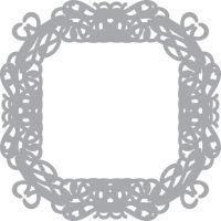 Обратный трафарет «Рамка»