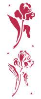 Трафарет «Тюльпаны»