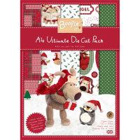 Набор бумаги и бумаги с высечкой Boofle Christmas