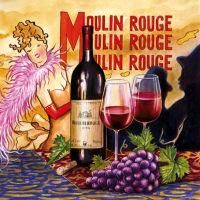 Салфетка для декупажа «Moulin Rouge» №412