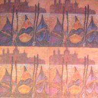 Салфетка для декупажа  «Каналы Венеции»