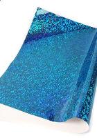 Кардсток односторонний «Голография» синий