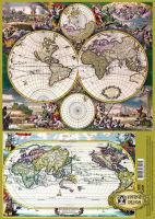 Декупажная карта «Старинная карта»