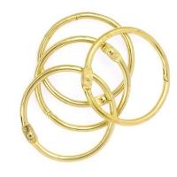 Кольца для альбомов «Золотые» 25 мм.