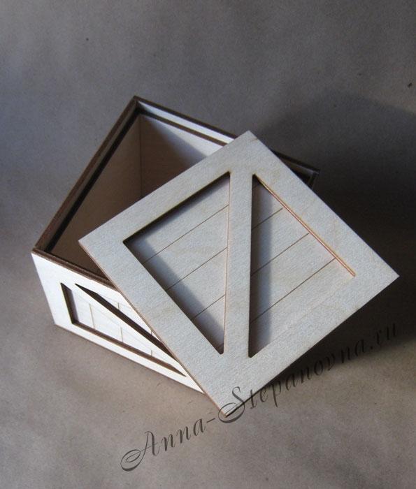Шкатулка под роспись «Ящик»