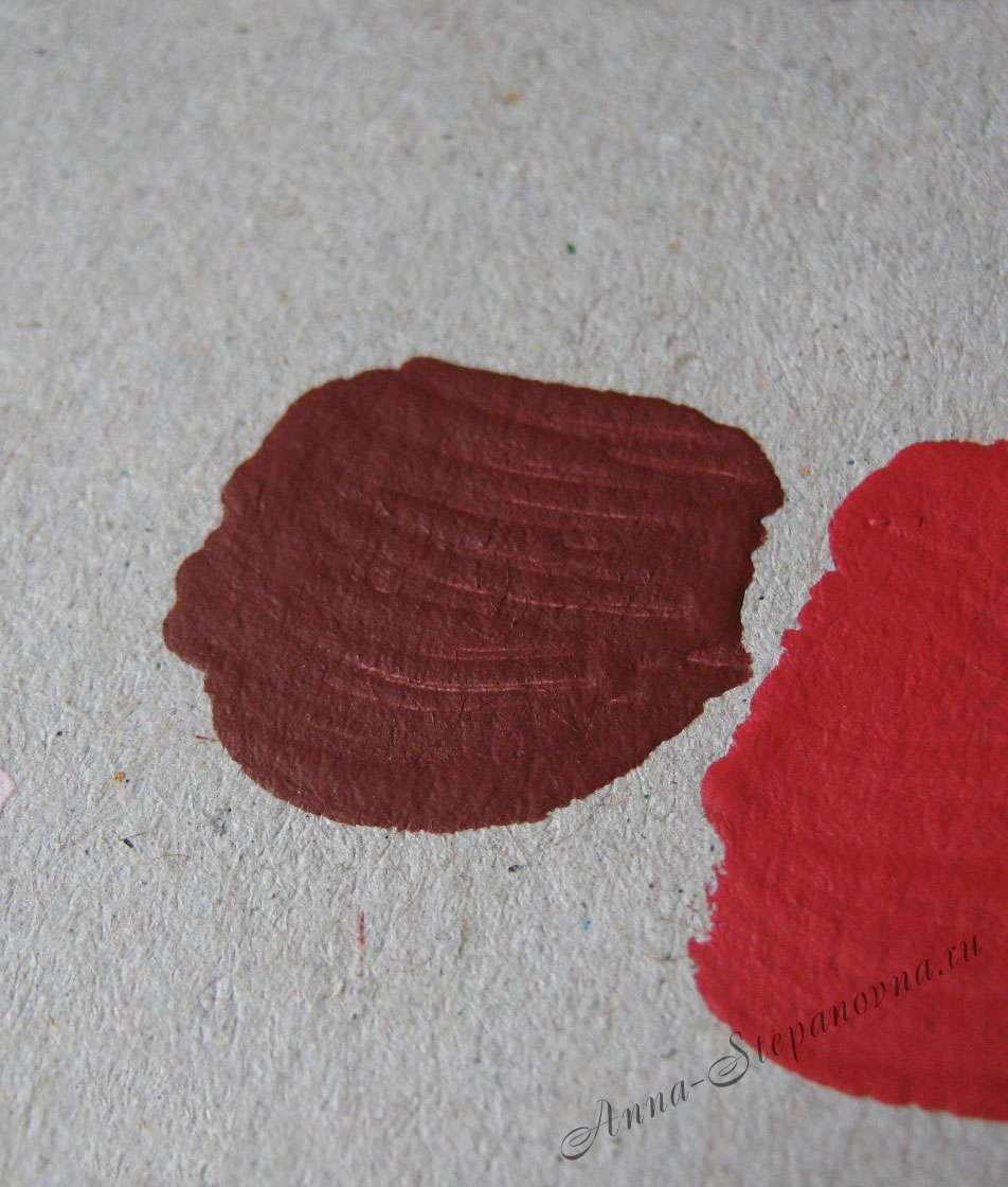 Краска «Вишня» акриловая