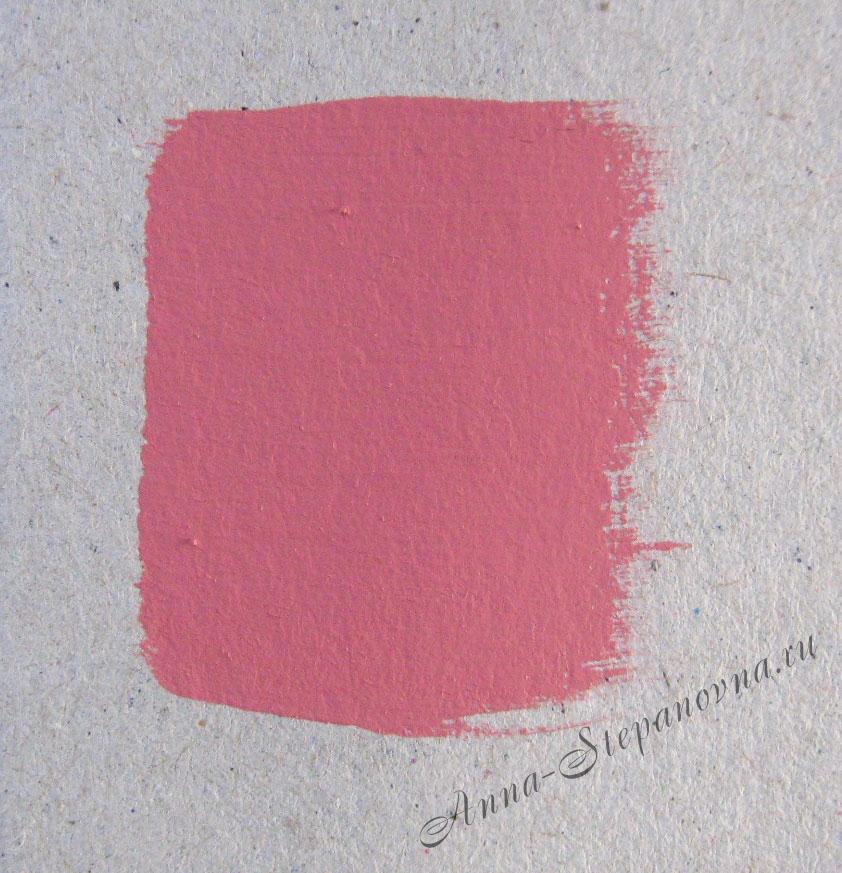 Краска «Старинный розовый» акриловая