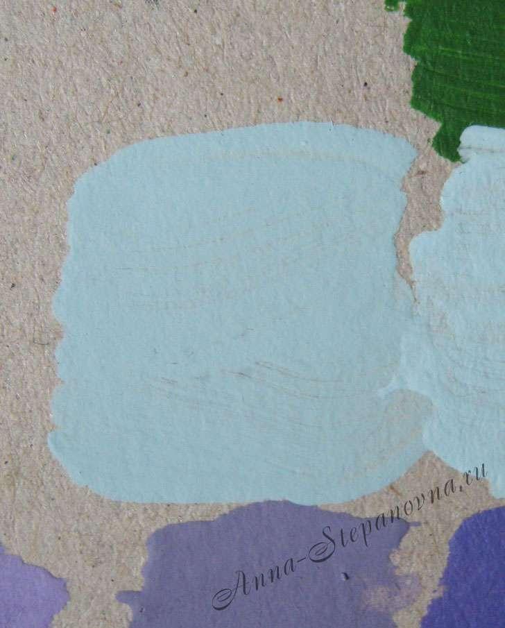Краска «Нежно-голубой» акриловая