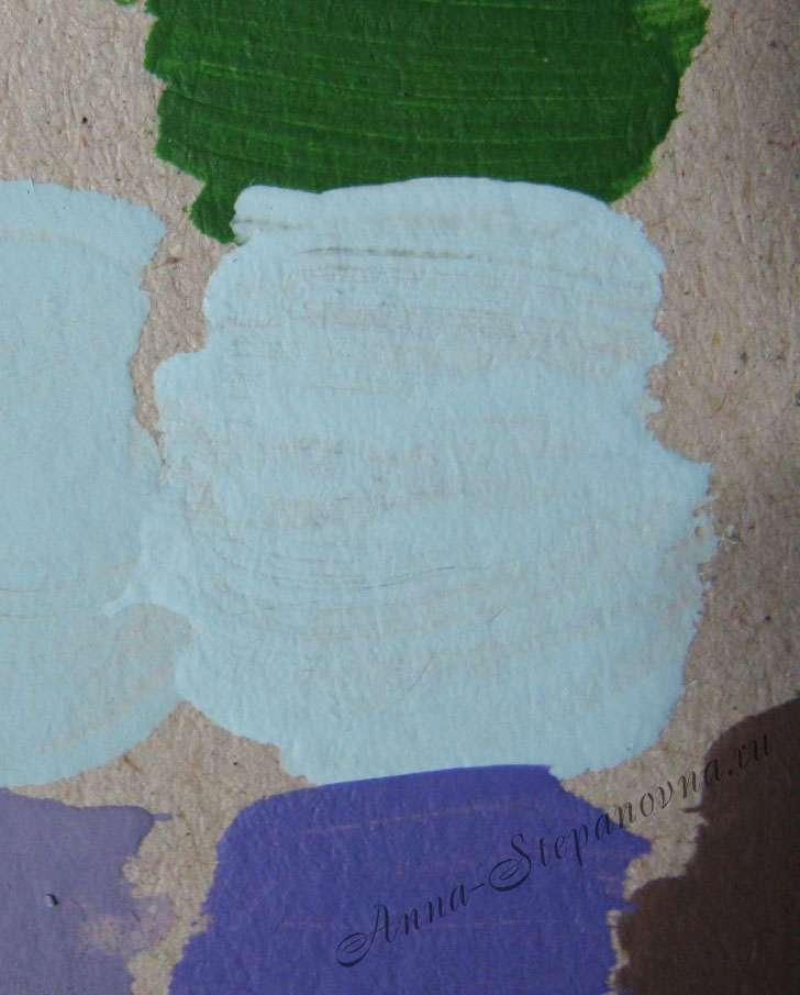 Краска «Аквамарин» акриловая