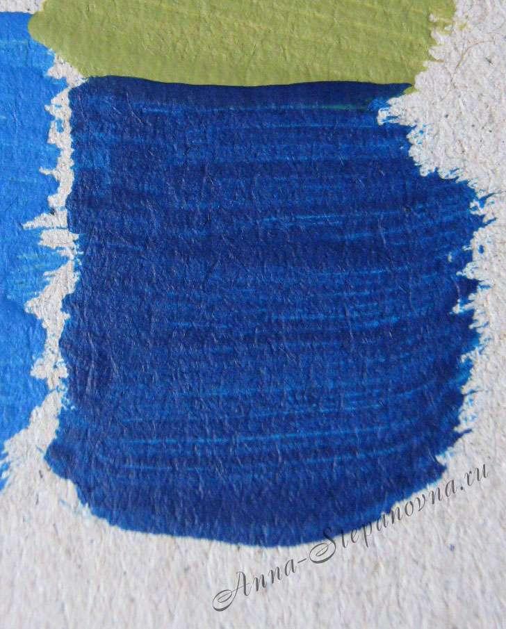 Краска «Королевский синий» акриловая