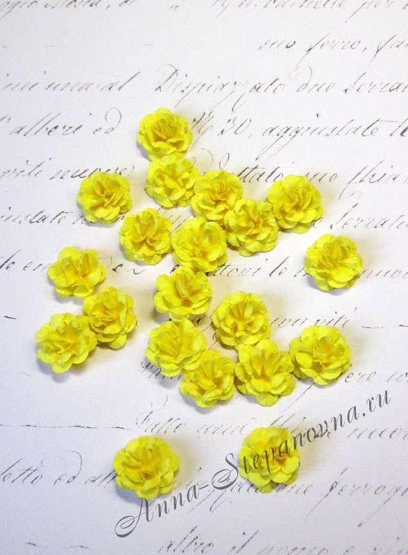 Мини-цветы «Монпансье» желтые
