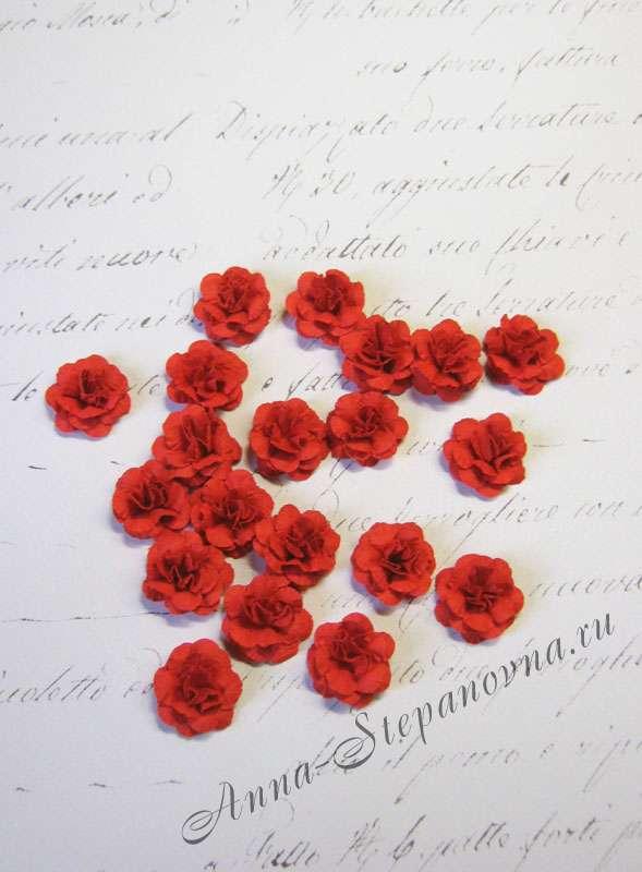 Мини-цветы «Монпансье» красные