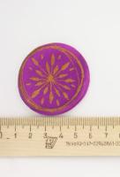 3D наклейка «Солнечное колесо»