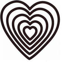 Набор ножей для вырубки «Сердечки»