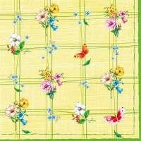 Салфетка «Узор с цветами» №550