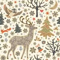 Салфетка «Сказочный лес» №605