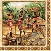 Салфетка «В Африке» №637