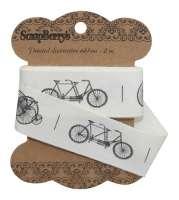 Лента декоративная «Ретро велосипеды»