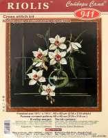 Набор для вышивания крестиком «Орхидеи» 941