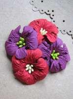 Цветы «Испанский сад» бумажные