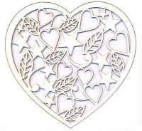 Чипборд «Сердце №6»
