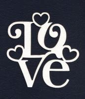 Чипборд «LOVE»