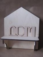 Ключница простая «Дом»