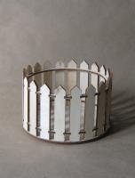 Декоративный забор, круглый
