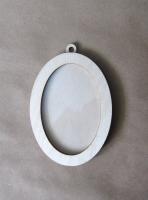 Рамка-медальон овальная №4
